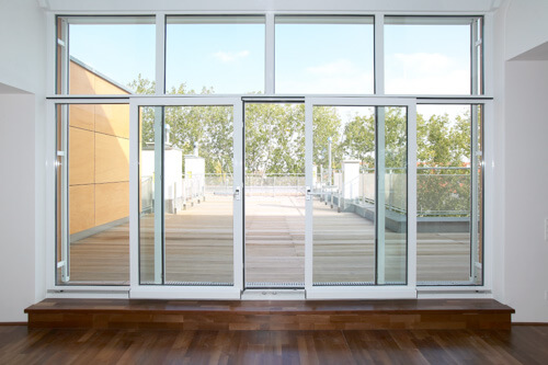 Front Entrance Glass Doors